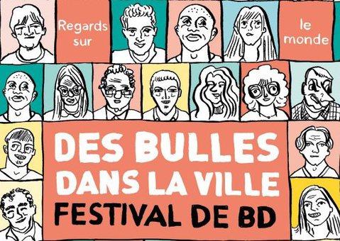 DES BULLES DANS LA VILLE 2017
