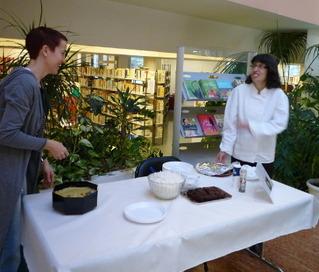 Retour sur le café gourmand du samedi 1er décembre à la Médiathèque Anne Fontaine